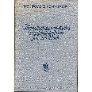 strona tytułowa książki W. Schmiedera